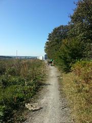 20190921_134303 (JohnSeb) Tags: johnseb sustrans volunteering leeds templenewsam ncn66 leedstpt cycleroute cycling bridleway path