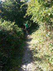 20190921_131437 (JohnSeb) Tags: johnseb sustrans volunteering leeds templenewsam ncn66 leedstpt cycleroute cycling bridleway path