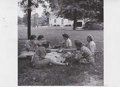 Jamestown, KY - 1943 (AunteyEm/MichelleW) Tags: postcards postcrossing bwpostcards bw blackwhitepostcards blackwhite blackandwhite jamestownkentucky kentucky