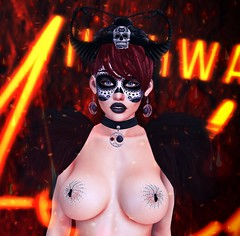 Welcome 💋 (ღ Sɑrɑɑh Drɑgoone ღ) Tags: twe12ve mooh supernatural lic tfs maitreya catwa spider av avi avatar bentoav body brazil blogger backdrop black cute color delicius devil mask event eyes fashion face girl gorgeous gameonline game ginger head hair horn pic lifestyle wix love luzes lady mesh meshhead new neon woman pose power portrait poses photo pretty princess queen retrato red rock secondlife sexy sl shop sensual sweet secondlifephoto style