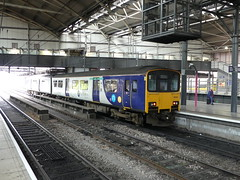 150124 Leeds (Beer today, red wine tomorrow.....) Tags: class150 dmu northern