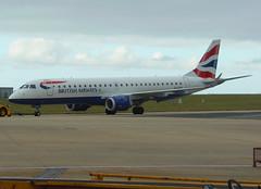 G-LCYK pushing back from stand 6 (Ibirdball) Tags: bacityflyer britishairways embraer e190 glcyk norwich egsh nwi klmukengineering