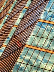 Angularity is not something cured by medication! (Book'em) Tags: hss google pixel3 snapseed toronto abstract architecture geometry geometric lines colors colours buildings glass diagonal