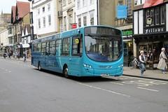 10934 20190911 Arriva Shires FL63 DWW (CWG43) Tags: bus uk arrivatheshires vdl sb200 wright fl63dww arrivamidlands