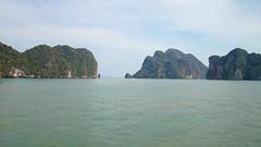 What's next? (Sylar8travel) Tags: travel travelphotography thailand islands island paradise beatifulplaces beatiful sea andamansea water rock rocks mountain mountains
