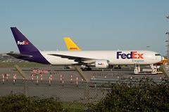 8577_N112FE (shamrockei105) Tags: n112fe boeing 767 767f fedex fedexexpress freighter dub eidw 13092019