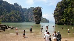James Bond (Sylar8travel) Tags: travel travelphotography thailand islands island paradise beatifulplaces beatiful sea andamansea james bond people water rocks mountain mountains