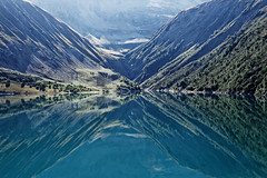 Barrage de Grand Maison (Olivier 38) Tags: lac barrage grand maison water eau
