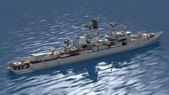 1134B_Kara (Lego shipyard) Tags: lego large antisubmarine ship warship kara berkut 1134b cruiser лего большой противолодочный корабль крейсер николаев беркут букарь 1134б