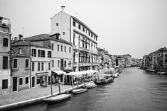 Venice (Bruscot Photography) Tags: a anyvision architecture b blackandwhite boat building c canal channel city h history house labels m monochrome monochromephotography n neighbourhood p photography r river s street style t town v vehicle w water watertransportation watercraft waterway white venice provinceofvenice italy