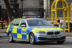 BV16 UWM (S11 AUN) Tags: london police bmw metropolitan 530d car estate traffic vehicle roads emergency touring interceptor unit 999 rpu metpolice policing anpr bv16uwm