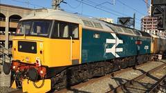47593 Reading 1Z04 (truegoonerwarman.dan) Tags: 1z04bristoltemplemeadsely reading 1z04 brush class47 47593 brblue