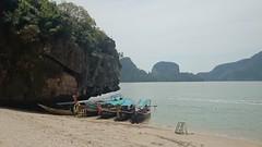 Safe haven (Sylar8travel) Tags: travel travelphotography thailand islands island paradise beatifulplaces beatiful sea andamansea water rocks rock mountain mountains boat boats