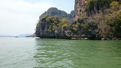 Green water (Sylar8travel) Tags: travel travelphotography thailand islands island paradise beatifulplaces beatiful sea andamansea water rock rocks mountain mountains