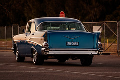 1957 Chevrolet Belair (SydneyLens) Tags: 1957 57 belair blue chevrolet fb0057 sedan