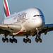Emirates A6-EUZ A380-861 EGCC 21.09.2019