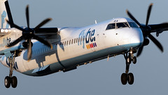 Flybe G-FLBA Dash 8 EGCC 21.09.2019 (airplanes_uk) Tags: 21092019 aviation dash8 flybe gflba man manchesterairport planes avgeek