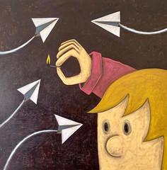 Matheu_Leonel_Looking_for_Cause (Leonel Matheu) Tags: leonelmatheu lookingforcause art arte kunst fineart visualart painting contemporary figurative artnow modernart contemporaryart americanart cubanamerican cubanamericanart cuban american whimsical artpic image now modern contemporayartwork cause looking fantastic