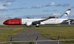 Norwegian LN-LNR , OSL ENGM Gardermoen (Inger Bjørndal Foss) Tags: lnlnr norwegian boeing 787 dreamliner osl engm gardermoen