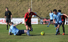 Lewes 1 Bowers & Pitsea 2 FAC 21 09 2019-209.jpg (jamesboyes) Tags: lewes bowersandpitsea fa cup facup betvictor premier isthmian football soccer nonleague sports sussex amateur goals score tackle celebrate kick ball boots rooks canon photography dslr 70d