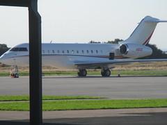 Bombardier BD-700  - N1812C - Citigroup Inc (cessna152towser) Tags: aircraft aeroplane aviation carlisle bombardier challenger bizjet bd700