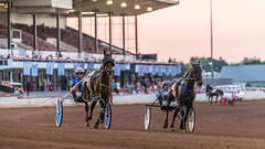 The Red Mile (sniggie) Tags: kentucky lexington redmile harnessracing horseracing saddlebredhorse dusk