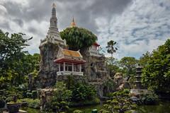 Bangkok – Turtle Mountain at Wat Prayoon (Thomas Mulchi) Tags: wongwienlek photowalk 2019 bpg bangkokphotographersgroup bangkok thailand thonburi thonburidistrict khaomomountainreplica watprayurawongsawasworawihan watprayoon bangkokmetropolitanregion happyplanet asiafavorites
