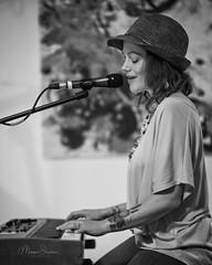 Singer Songwriter Kala (mgstanton) Tags: art gallery music musician singer songwriter thewgallery wayland kalafarnham keyboard hat