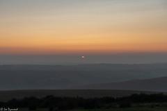 Photo of The setting sun