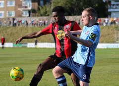 Lewes 1 Bowers & Pitsea 2 FAC 21 09 2019-194.jpg (jamesboyes) Tags: lewes bowersandpitsea fa cup facup betvictor premier isthmian football soccer nonleague sports sussex amateur goals score tackle celebrate kick ball boots rooks canon photography dslr 70d