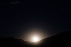 Moon Rise, Waning Gibbous (M///S///H) Tags: lenstagger bright cloud longexposure moon moonrise mountains newmexcio newmexicotrue nightphotography nighttime startrails stars taos themoon waninggibbous