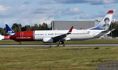 Norwegian EI-FVL, OSL ENGM Gardermoen (Inger Bjørndal Foss) Tags: eifvl norwegian boeing 737 osl engm gardermoen