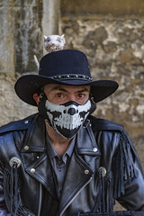 The Asylum 2019 (P.P.P ( point - press - pray )) Tags: eyes mask scary costume steampunk hat lincoln lincolnshire asylum