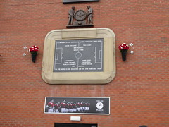 Munich Air disaster memorial (lcfcian1) Tags: manchester united leicester city old trafford mufc lcfc epl bpl sport england stadia stadium ground manchesterunited leicestercity premier league manchesterunitedvleicestercity oldtrafford premierleague