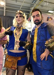 Aniventure Comic-Con 2019: Day 2 portraits: Fallout (SpirosK photography) Tags: sofia bulgaria σόφια βουλγαρία expo cosplay costumeplay aniventure comiccon aniventurecomiccon aniventurecomiccon2019 portrait day2 fallout fallout76 game videogame videogamecharacter