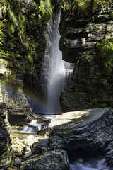Photo of Spout Force Waterfall Whinlatter Pass, High Lorton, Lake District, Cumbria, England