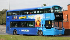 Photo of Diamond Bus North West 40701 SK19EYW at Salford Shopping City with a Manchester bound 37 service.