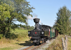 U-Class steam locomotive No. 2 'Zillertal' gets underway at Golfa Halt whilst heading for Castle Caereinion on the W&LLR. (Chuffer Haynes) Tags: linz austria steam locomotive mav zillertal no2 uclass light railway llanfair welshpool krauss golfa