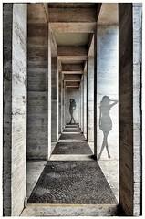 Linee. (Livio Saule) Tags: roma italia eur architettura architetture linee geometrie artistic arte palazzo stru structure strutture