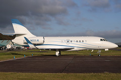 Dassault Falcon 2000EX N222JE Higher Cause LLC (Mark McEwan) Tags: dassault falcon falcon2000ex n222je highercausellc aviation aircraft airplane bizjet dundee dundeeairport