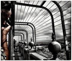 Il tunnel. (Livio Saule) Tags: linee torino architettura architecture architetture parallelo fotografia italia bianconero città persone galleria museum museo mole antoneliana piedmont cinema