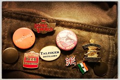 Photo of Belstaff and badges