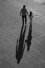 Shadow (K.BERKİN) Tags: walk turkey human people street streetphoto streetphotograpy shadow kid life istanbul ilce7rm3 city child blackwhite mirroless