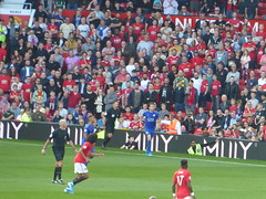 Towards the end of the game (lcfcian1) Tags: manchester united leicester city mufc lcfc old trafford stadia stadium ground footy epl bpl premier league manchesterunited leicestercity oldtrafford premierleague