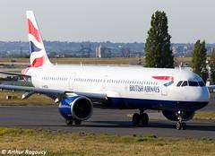 British Airways Airbus A321-251NX G-NEOU (CDG) (Arthur Ragoucy) Tags: british airways airbus a321251nx gneou cdg