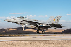 War Party (dmeg180) Tags: airplane aircraft jet navy fallon usn hornet rhino f18 f18e runway goldenwarriors vfa87 warparty nikon d500 20700mm 168911