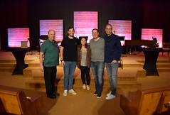 Launch Commission 663 (Donna's View) Tags: nikon d3300 thrivechurch thrivechurchsequim thrivechurchlaunch church sign churchsign sanctuary gatheringspace backdrops lightedbackdrops remodel