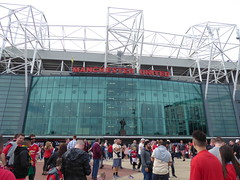 Old Trafford Exterior (lcfcian1) Tags: manchester united leicester city mufc lcfc old trafford stadia stadium ground footy epl bpl premier league manchesterunited leicestercity oldtrafford premierleague