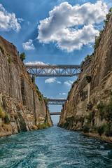 Corinth Canal (Steve Grimmett Photography) Tags: corinth greece canal