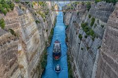 Corinth Canal (Steve Grimmett Photography) Tags: corinth canal greece